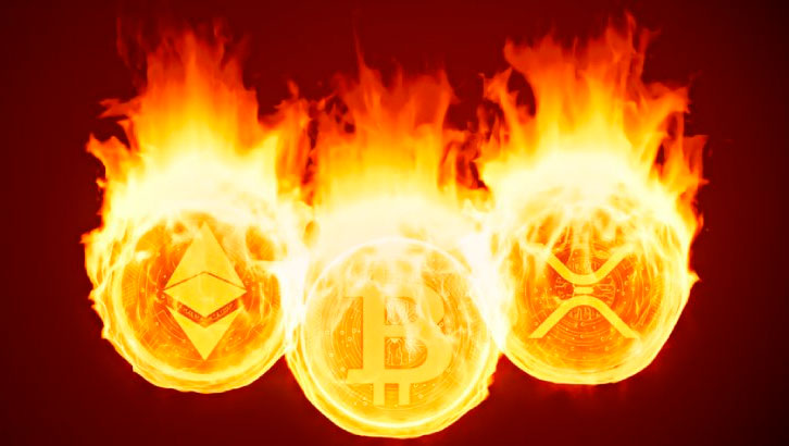 Сжигание монет криптовалюты (Сoin burn)