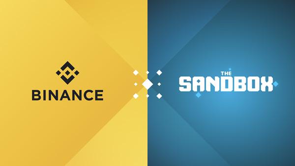 Binance объявила о сотрудничестве с The Sandbox