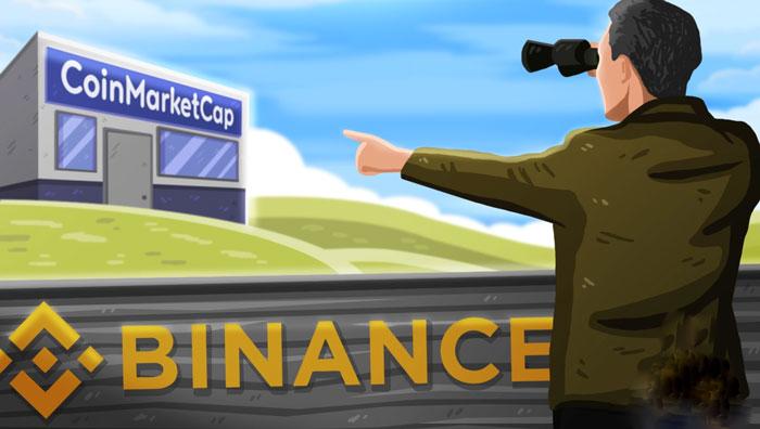 Криптобиржа Binance покупает ресурс CoinMarketCap