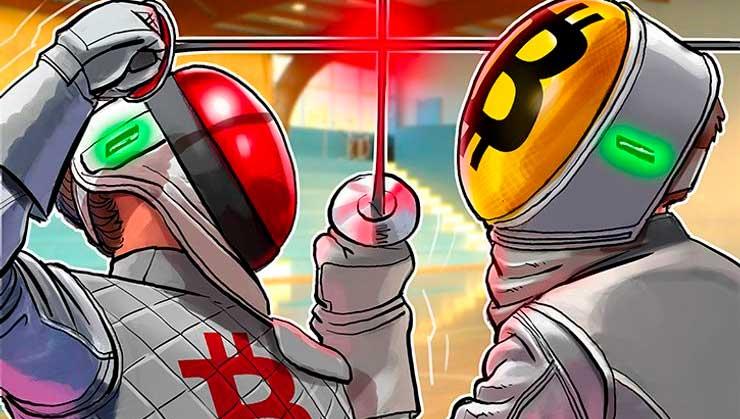 Противостояние Bitcoin Cash и Bitcoin