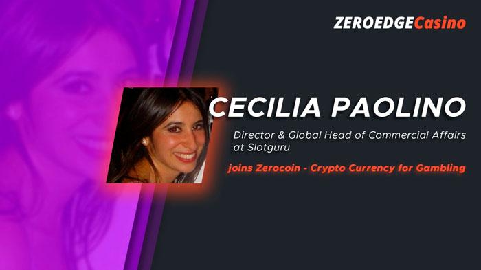 Cecilia Paolino-Uboldi в команде Zerocoin