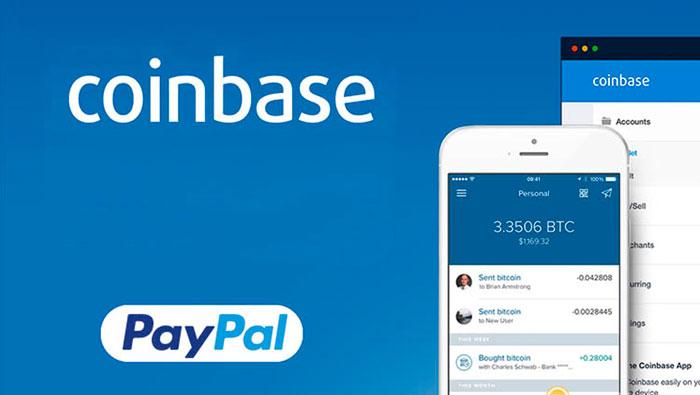 Coinbase добавила вывод через PayPal