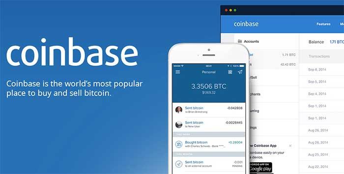 Сервисы Coinbase - криптовалютный кошелек и биржа