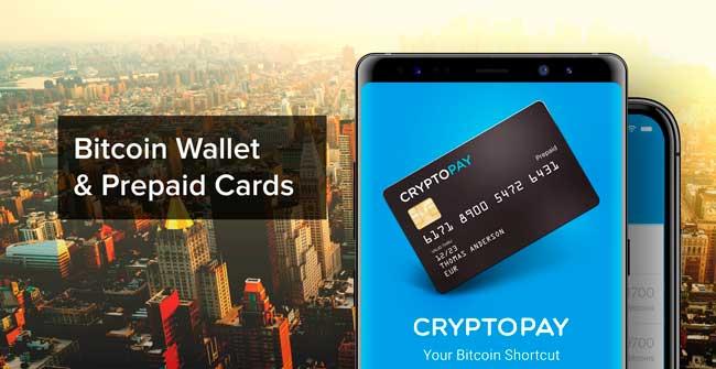 Криптовалютный кошелек Cryptopay