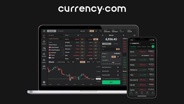 Криптобиржа Currency.com
