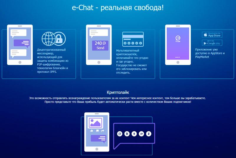 Приложение E-chat