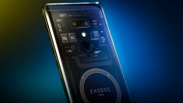 Смартфон HTC EXODUS 1s с поддержкой криптовалюты