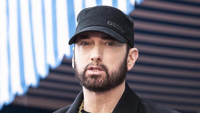 Американский рэпер Eminem