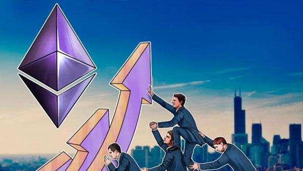 Рост курса Ethereum