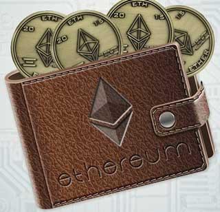 Эфириум кошелек для монет ETH