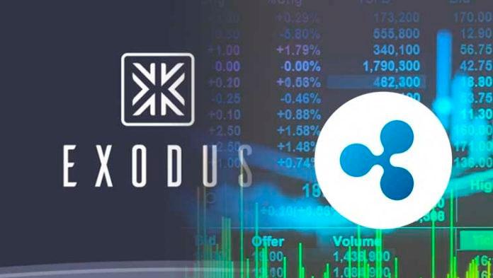 Криптовалютный кошелек Exodus