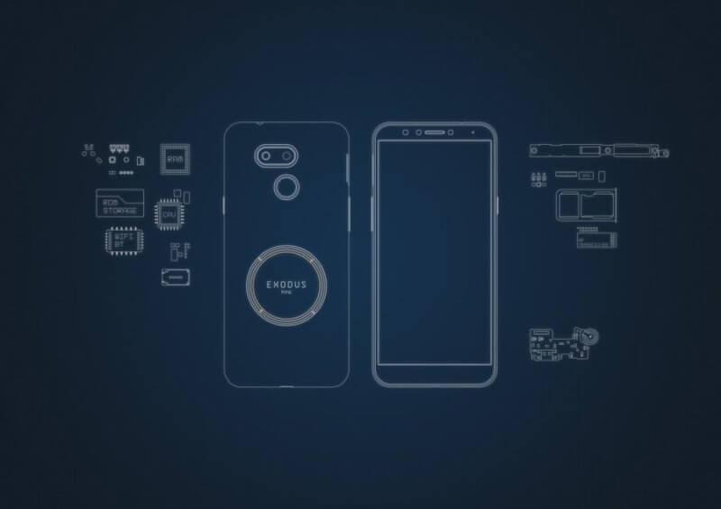 Смартфон EXODUS 1s с поддержкой криптовалюты