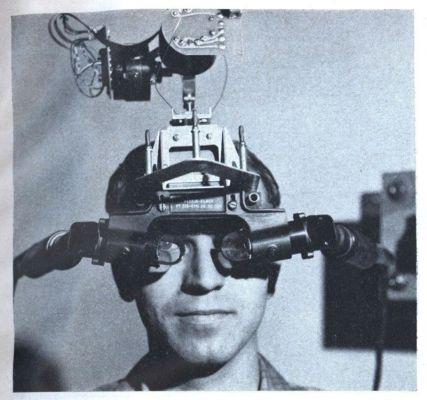 Шлем виртуальной реальности Head-Mounted Display (HMD)