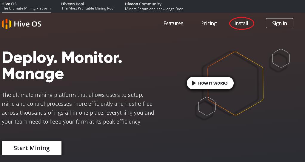 Hive OS 2.0 для майнинга