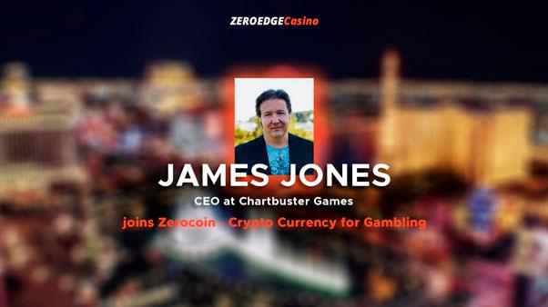 Джеймс Джонс присоединяется Zerocoin