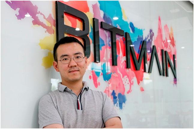 Джихан Ву - сооснователь компания Bitmain