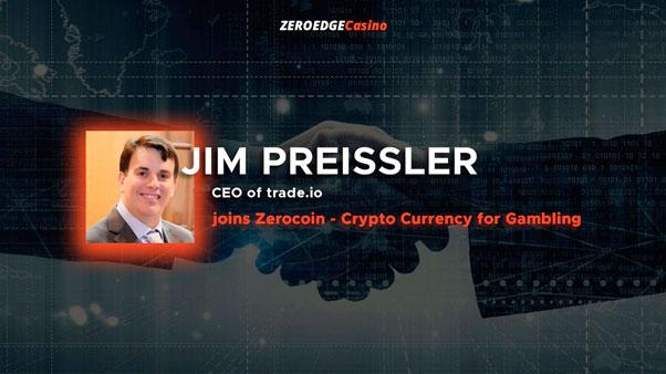 Джим Прейсслер присоединился к Zerocoin