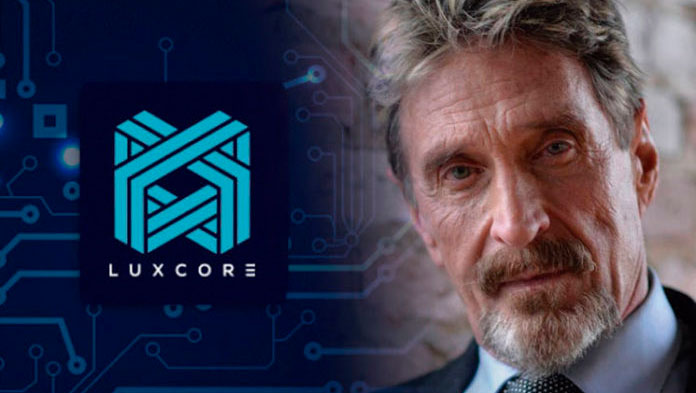 Джон Макафи возглавил блокчейн-стартап Luxcore