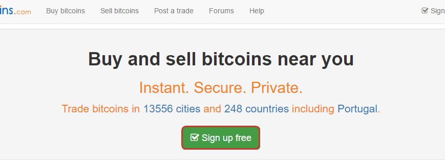 Регистрация наLocalBitcoins