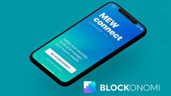 Приложение MEW Connect для IOS и Android