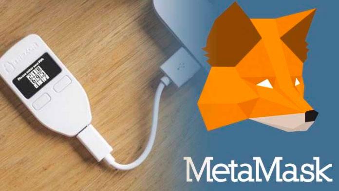 Кошельки Trezor поддерживают работу с MetaMask