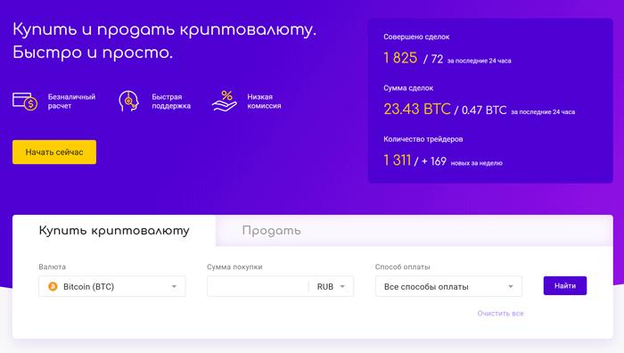 Monabey - p2p обменник для покупки и продажи криптовалюты