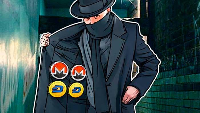 Анонимные криптовалюты: Monero, ZCash, Dash