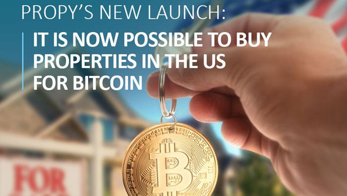 ICO Propy покупка недвижимости за биткоины
