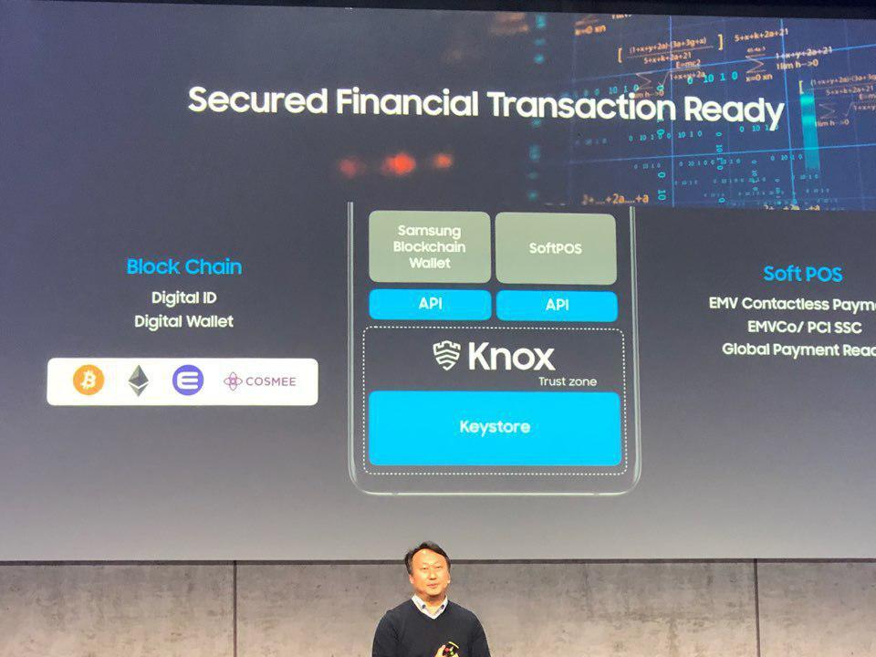 Криптовалюты которые будет поддерживать Samsung Galaxy S10