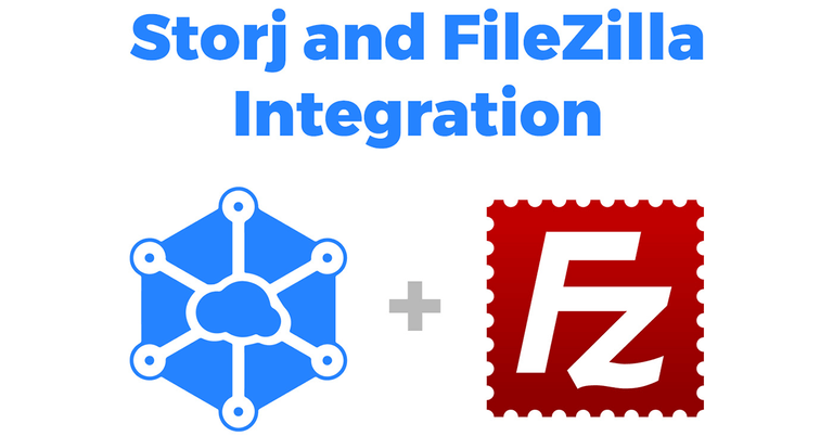 Storj и FTP-клиент Filezilla