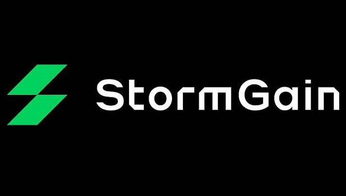 Криптобиржа StormGain