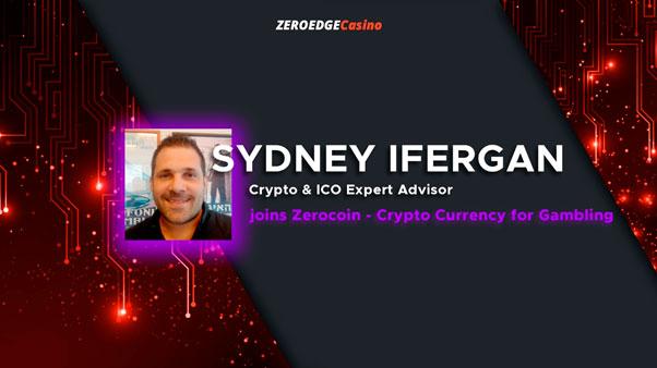 Sydney Ifergan присоединяется к Zerocoin