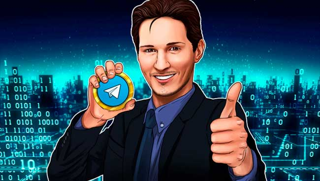 Криптовалюта TON (Gram) от Павла Дурова будет на форуме в Давосе