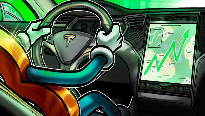 Электромобили Tesla за биткоин