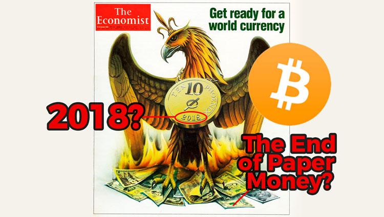 Журнал Ротшильда The Economist писал о биткоине еще в 1988 году