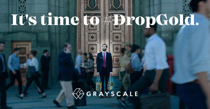 Акция #DropGold демонстрирует инвесторам преимущества биткоина над золотом