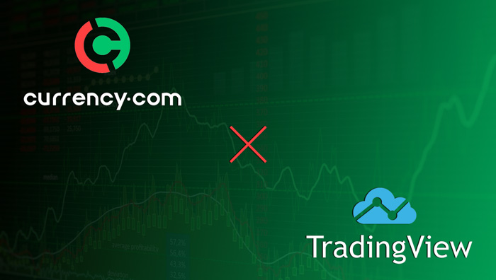 Криптобиржа Currency.com заключила партнерство с TradingView