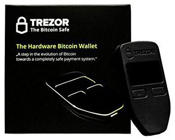 Криптовалютный аппаратный кошелек TREZOR Wallet