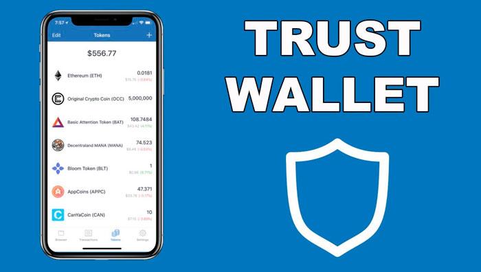 Криптовалютный кошелек Trust Wallet