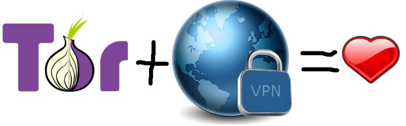 Использование VPN с браузером Tor
