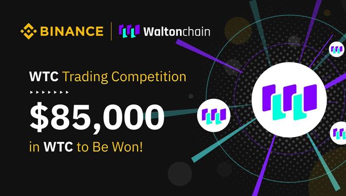 Waltonchain Binance - Криптобиржа Binance запустила конкурс для пользователей с призовым фондом $85 000