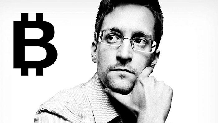 Мнение Эдварда Сноудена о биткоине, криптовалюте и блокчейне