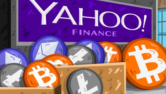 Yahoo Finance добавил торговлю криптовалютами