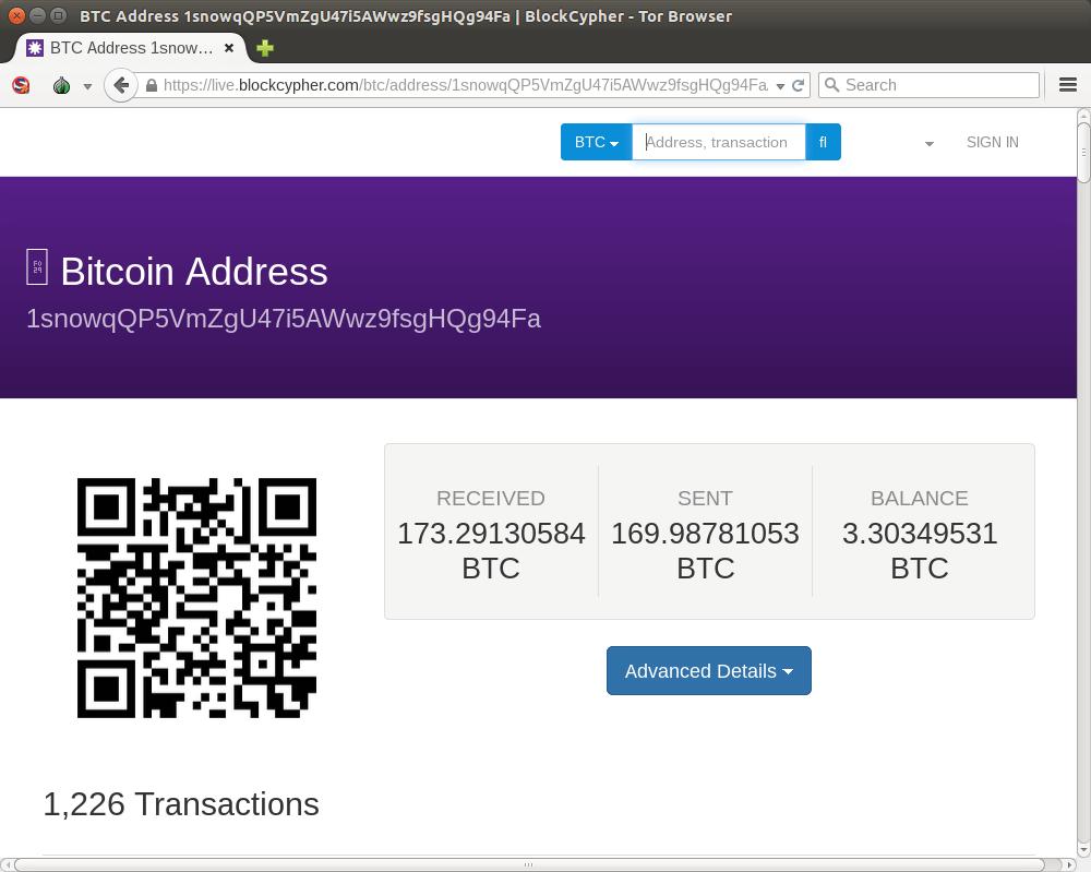Обозреватель блоков сети биткоин
