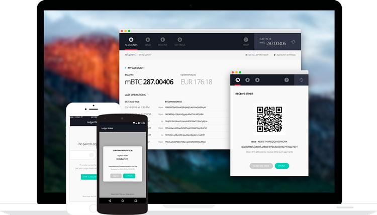 Приложение для кошелька Ledger Nano S в виде расширения Google Chrom