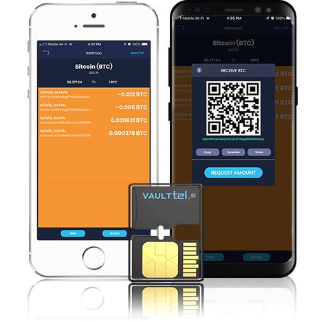 Аппаратный криптовалютный кошелек VaultTel
