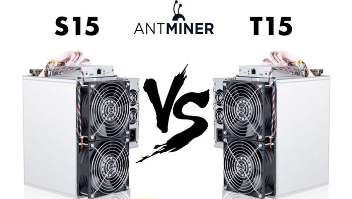 ASIC Antminer S15 и T15