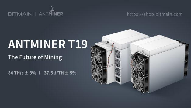 ASIC Antminer T19 для майнинга биткоина