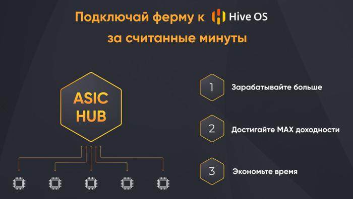 ASIC-HUB в Hive OS