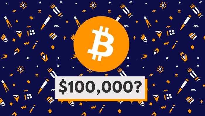 Цена Биткоина $100 000
